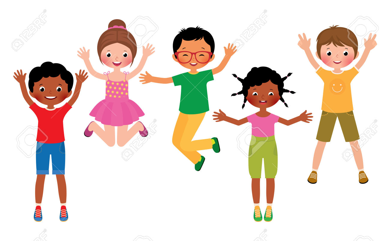1300x806 Jumping Children Clipart, Explore Pictures