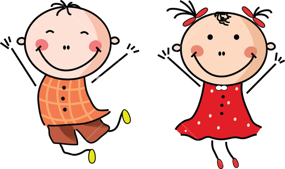 Happy Children Clipart | Free download on ClipArtMag