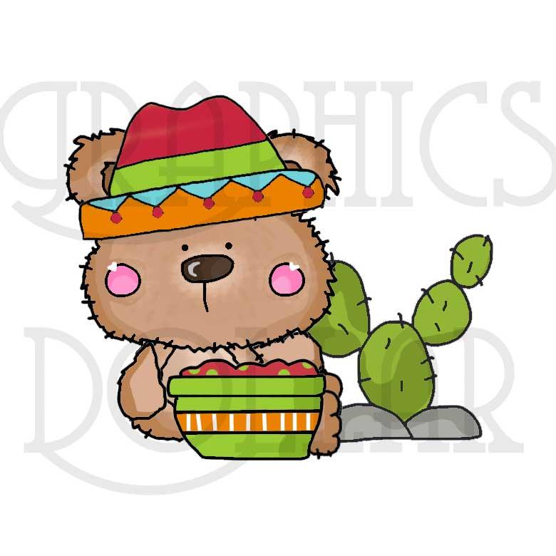 780x780 Cinco De Mayo Bears Clip Art