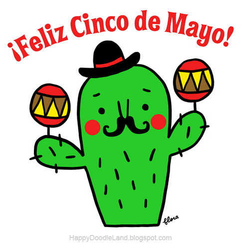 483x500 Happy Doodle Land Cinco De Mayo