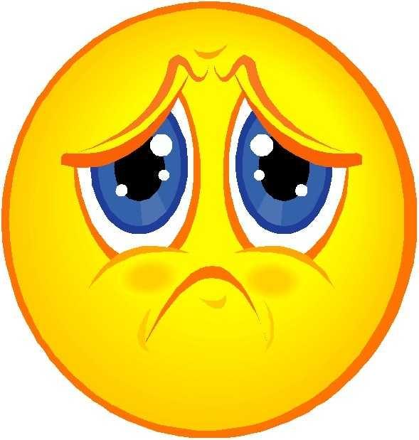 589x619 Top 10 Free Clip Art Sad Face