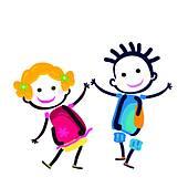 170x170 Happy Couple Clip Art