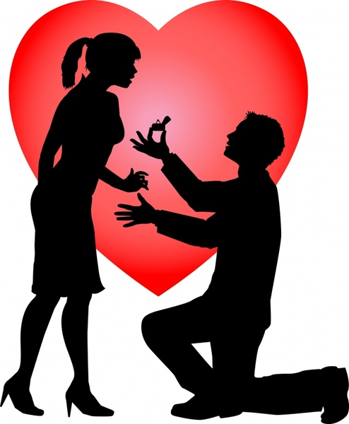 494x600 Happy couple and the couple vector Free vector in Encapsulated