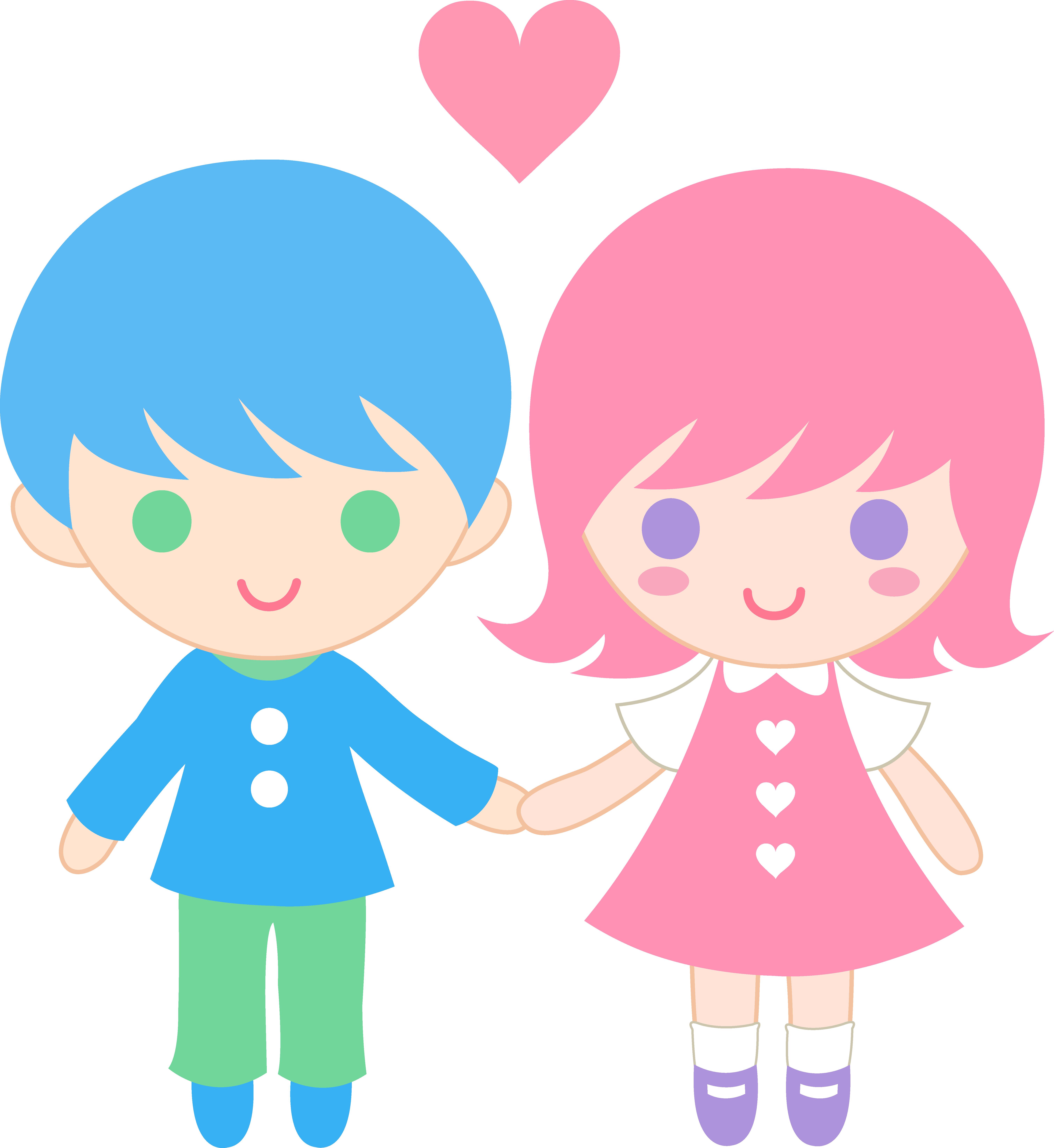 6037x6575 Love clipart valentine couple