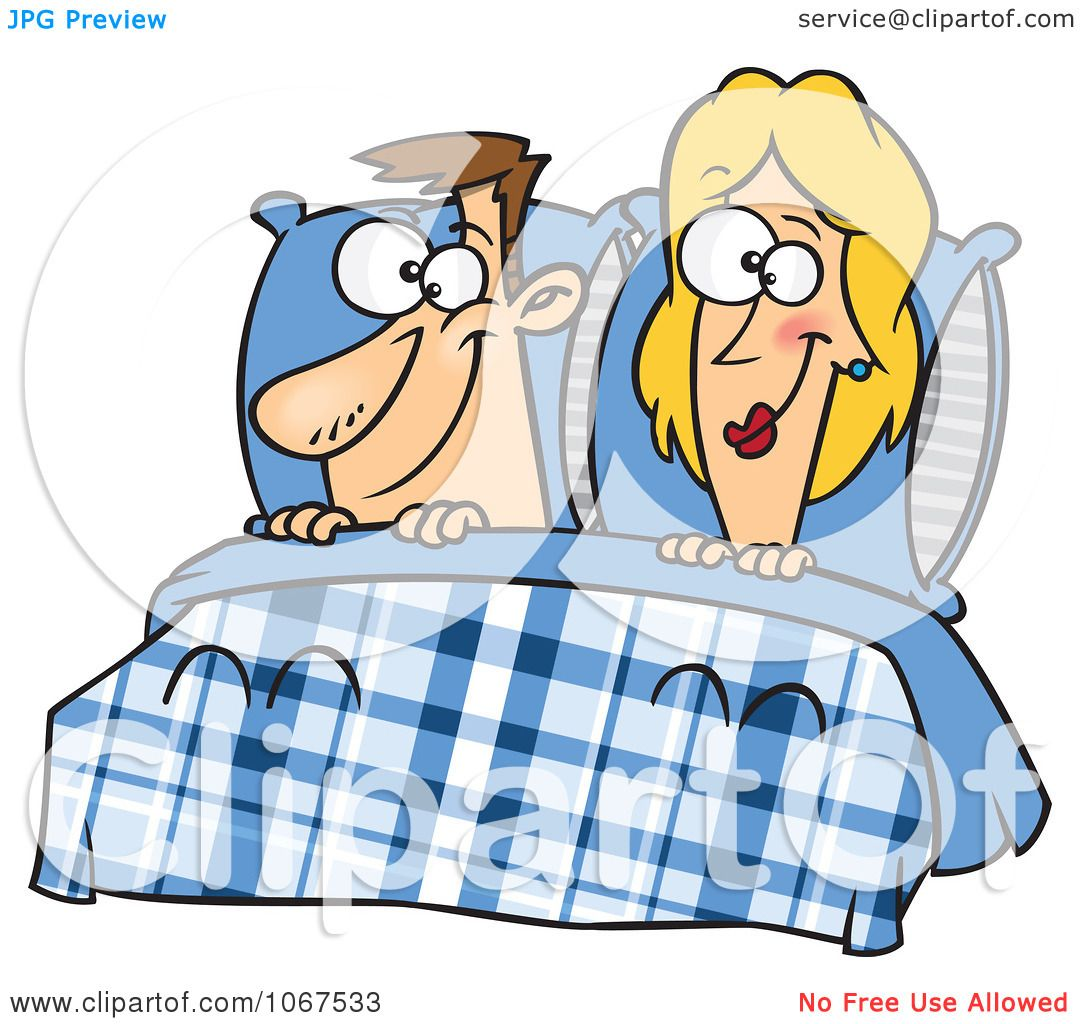 1080x1024 Clipart Happy Couple In Bed