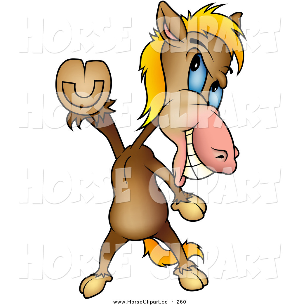 1024x1044 Clip Art Of A Happy Brown Horse Doing The Travolta Disco Dance