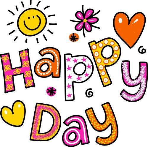 500x495 Happy Day Printable