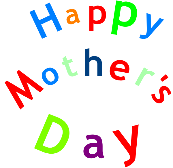 600x585 Happy Mother S Day Sign Clip Art