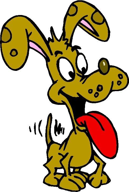 490x729 Happy Dog Clipart