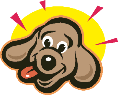 400x323 Image Of Dog Clipart Happy Puppy Clip Art Clipartoons