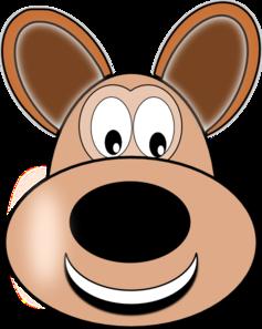 237x297 Smiley Dog Face Clip Art