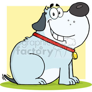 Happy Dogs Clipart