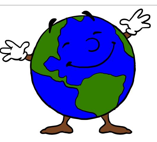 530x482 Earth Clipart Face