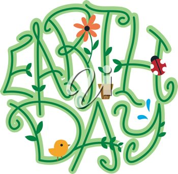 350x342 149 Best Earth Day Clipart Images Fonts, Texts