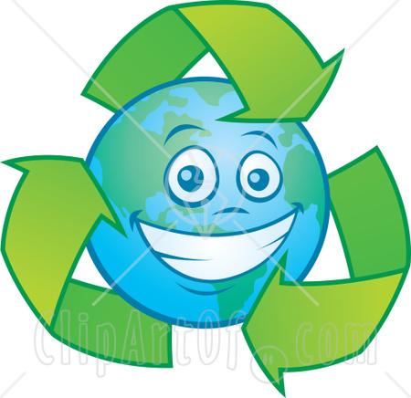 450x436 Happy Earth Clipart