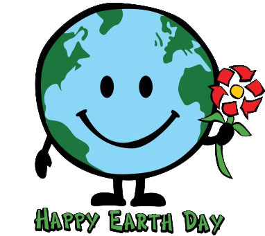 382x341 Happy Earth Day Clipart
