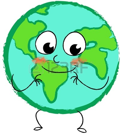 407x450 Crying Sad Planet Earth Stock Photo, Picture And Royalty Free