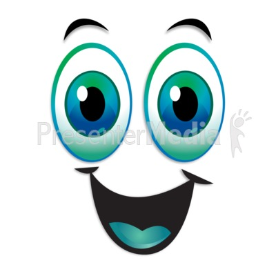 400x400 Happy Excited Expression Eyebrows Raised Powerpoint Clip Art