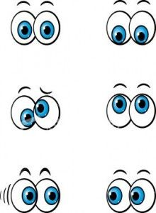 220x300 Best Cute Cartoon Eyes Ideas Craft Eyes