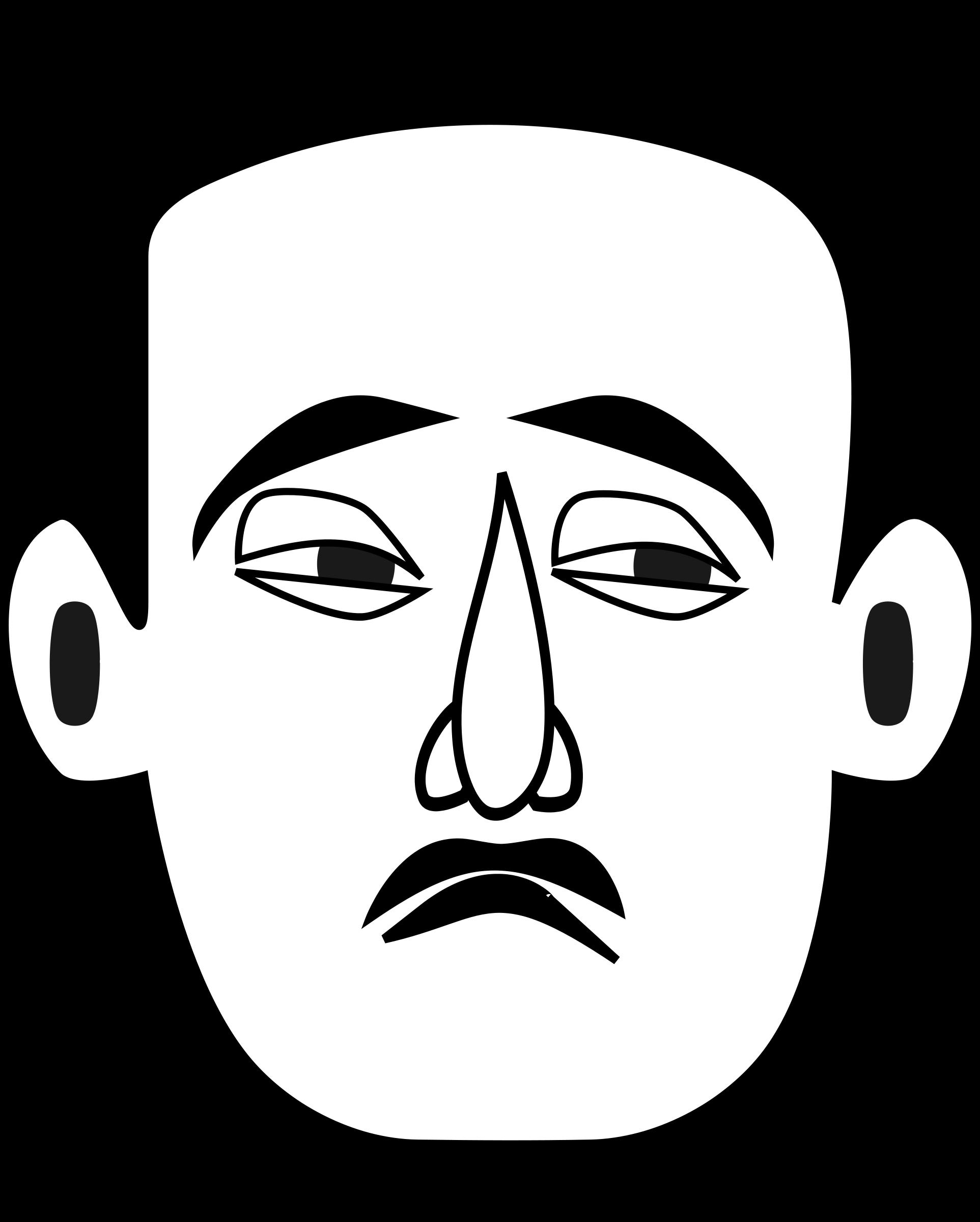 1925x2400 Sad Face Smiley Face Clip Art Images Image 2
