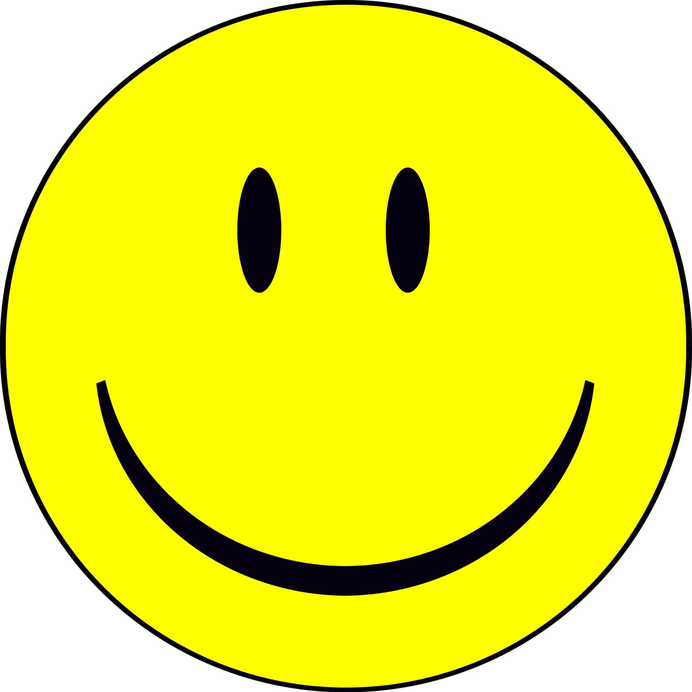 2400x2400 Smiley Face Free Clip Art