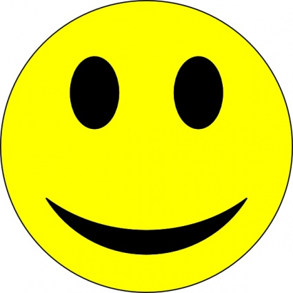 425x425 Smiley Face Clip Art Vector, Free Vector Images