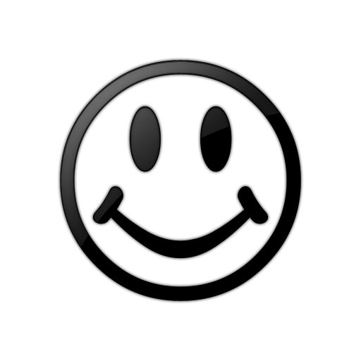 512x512 Smiley Face Black And White Smiley Faces Clip Art Black And White
