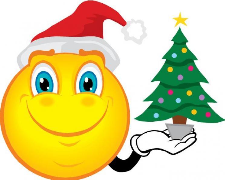 744x593 Smileys Clipart Christmas