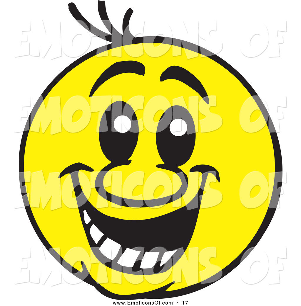 1024x1044 Clip Art Vector Of A Big Friendly Yellow Smiley Face On White By