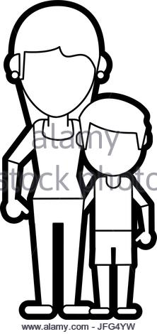 Happy Family Clipart Black And White Free Download Best Happy
