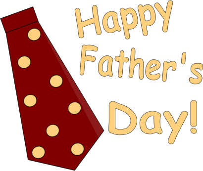 410x346 Happy day 5 images pictures quotes fathers day tie clipart image