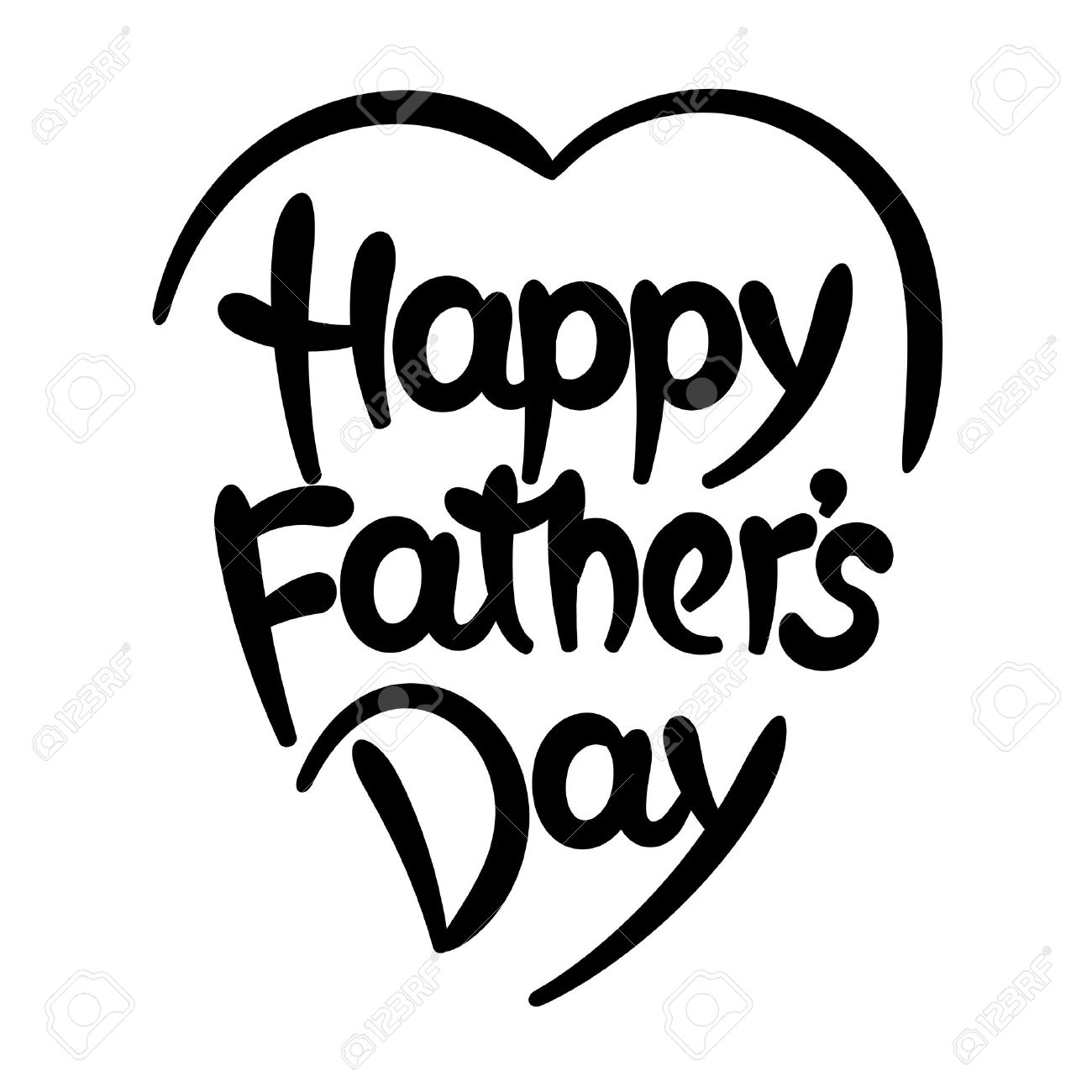 1300x1300 Lettering clipart happy fathers day