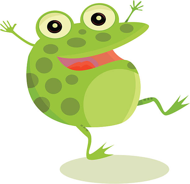 612x593 Amphibian Clipart Happy Frog