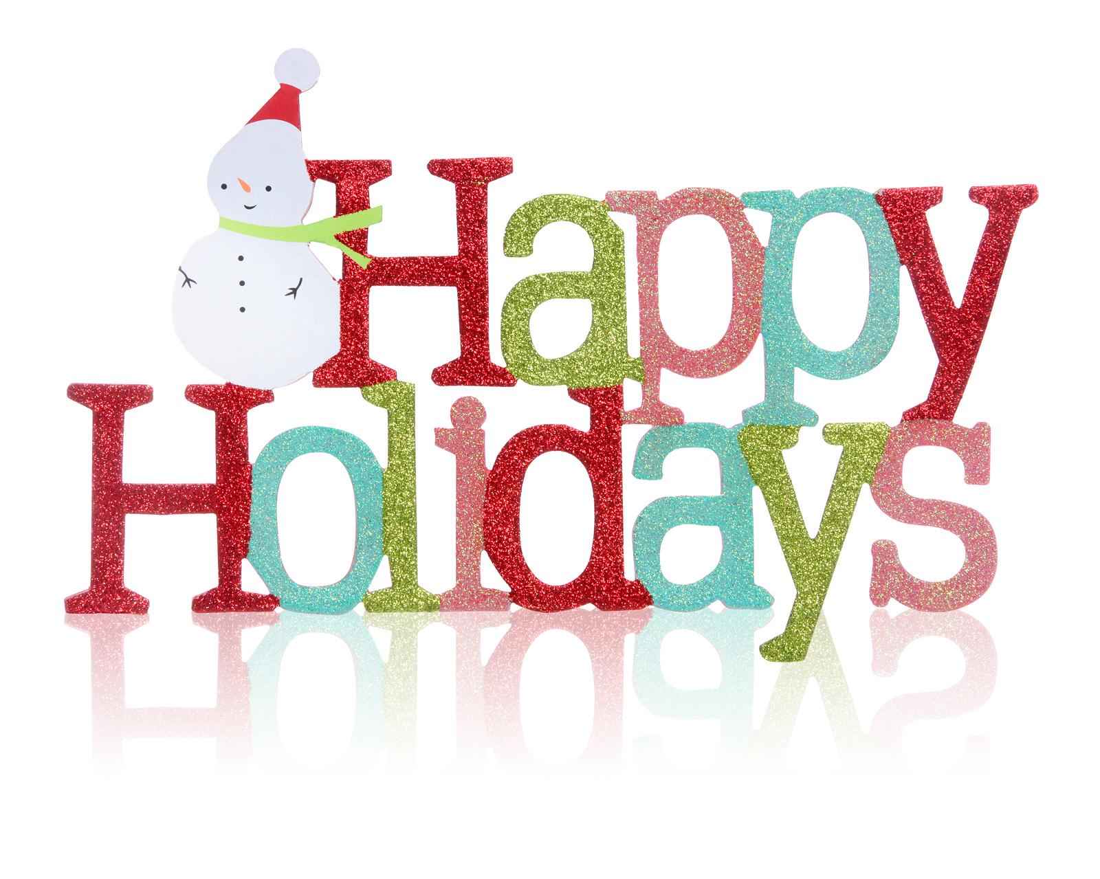1600x1279 Holiday Clip Art Happy Holidays