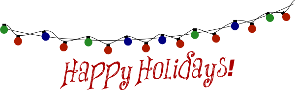 600x184 Happy Holidays Clip Art Backgrounds Cliparts