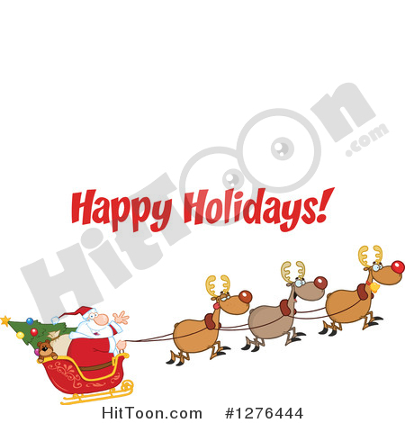 450x470 Happy Holidays Clipart