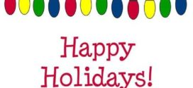 272x125 Free Holiday Clipart Pictures