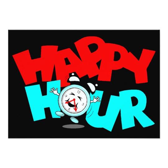 540x540 Host A Happy Hour Party Theme Invitation Invites