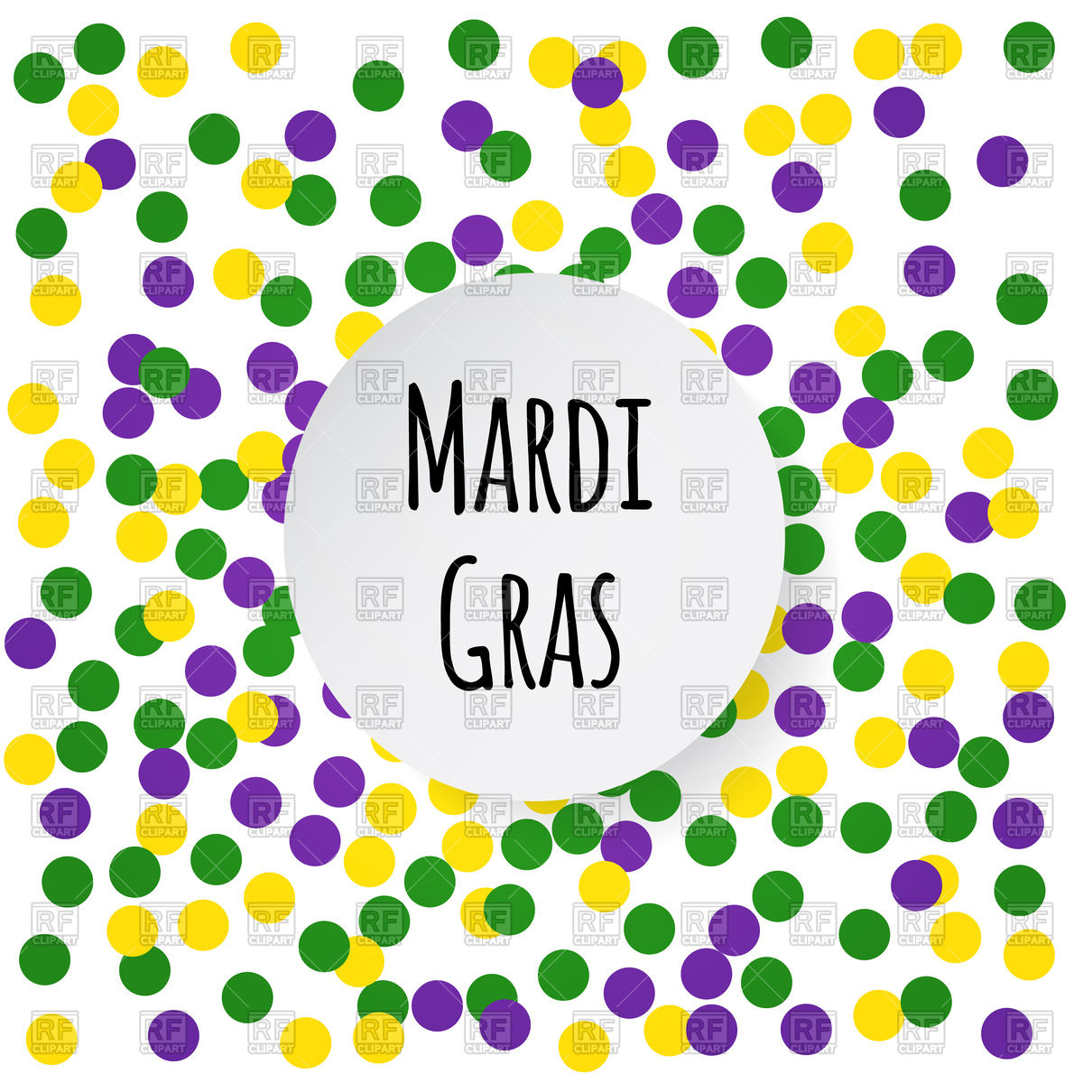 1200x1200 Mardi Gras Background Royalty Free Vector Clip Art Image