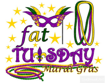 340x270 Fat Tuesday Clipart