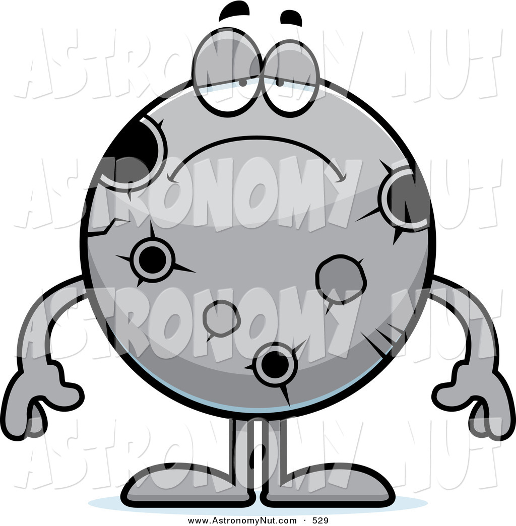 1024x1044 Clipart Of A Depressed Moon With Craters And Holes By Cory Thoman