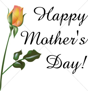 375x388 Happy Mothers Day Clipart