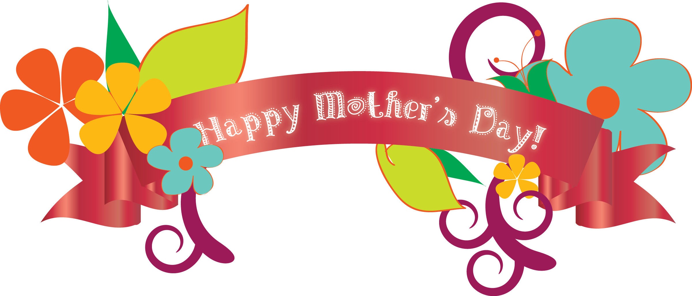 2400x1028 Happy Mothers Day Mother Clip Art Clipart Images Net Clipartbarn