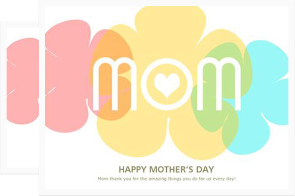 582x386 Mother's Day Cards