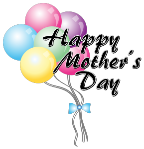 289x300 Mother's Day Clipart Balloon