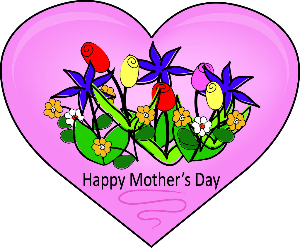 1024x846 Mother's Day Clipart Motherly Love