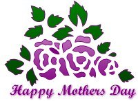 200x147 Mother's Day Clipart Rose Art