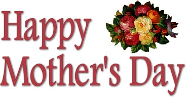 367x192 Mothers Day Happy Mother'Day Clip Art Banner