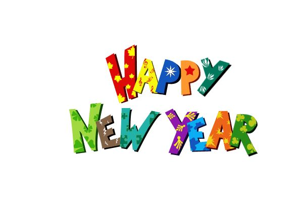 600x400 Happy New Year Clipart Free Many Interesting Cliparts