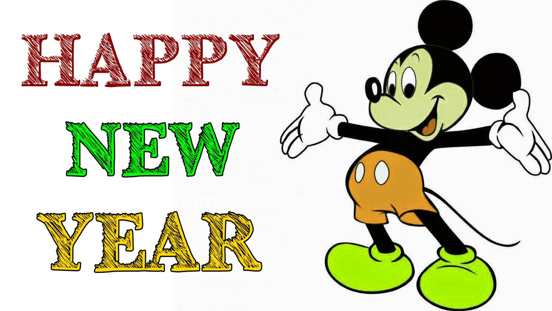 1920x1080 Funny Happy New Year Cartoon Hd ~ Inspiring Quotes And Words In Life